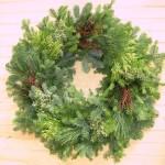 """14"""" deluxe wreath"""
