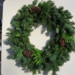 "16"" mixed wreath in sunshine"