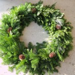"24"" mixed wreath in sunshine"